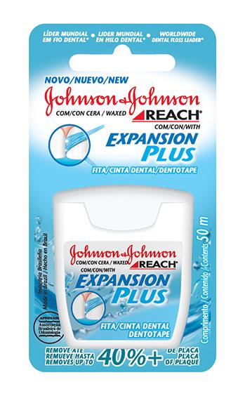 506a4d483 REACH Expansion Plus. REACH® Expansion Plus. Fita dental mais flexível e ...